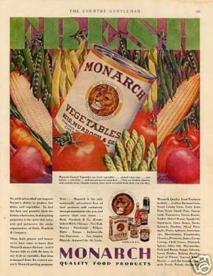 Monarch Vegetables Color (1928)