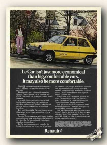 Renault Lecar May Be More Comfortable Photo (1979)