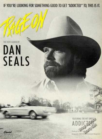 Dan Seals Photo Rage On Album Promo (1988)
