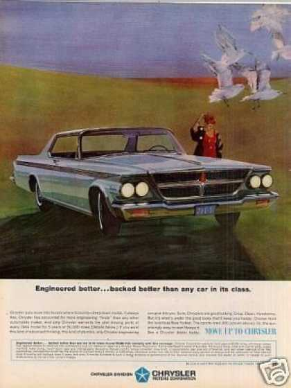 "Chrysler Car Ad ""Engineered Better... (1964)"
