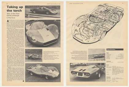 Ford 3-Litre Sports Prototype 2-Pg British Article (1968)