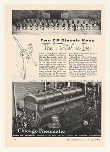 New Haven Arena Ice Follies CP 68 Diesel Engine (1954)
