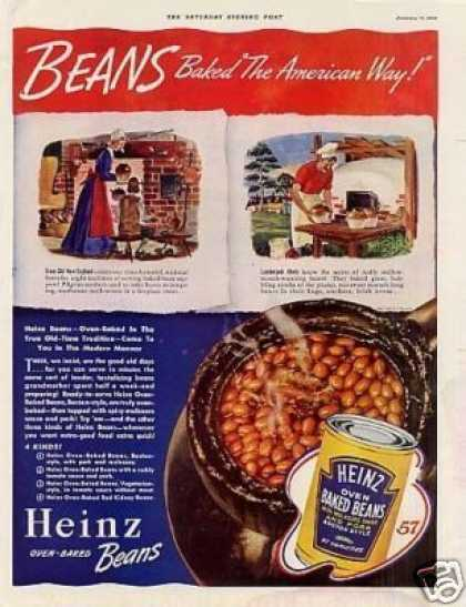 Heinz Oven Baked Beans (1940)