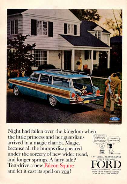 Ford Falcon Squire Station Wagon (1964)