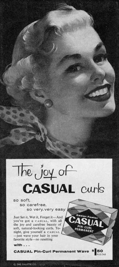 Gilllette's Casual Curls (1956)