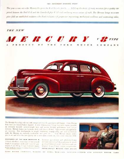 Mercury V8 Type Sedan (1939)