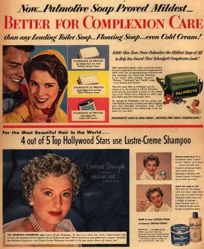 Palmolive Company's Palmolive Soap – Now...Palmolive Soap Proved Mildest (1954)