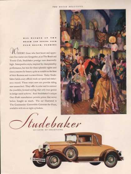 Studebaker Care Builder of Champions (1929)