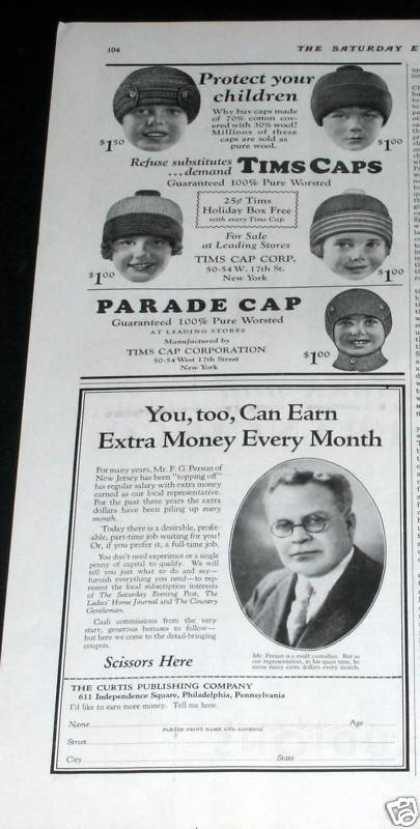 Tims, Parade, Head Caps (1929)