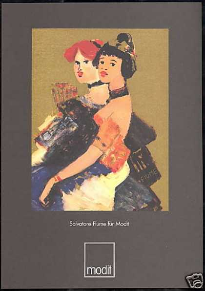 Modit Fashion Salvatore Fiume Art German (1985)