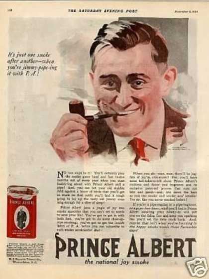 Prince Albert Tobacco (1920)
