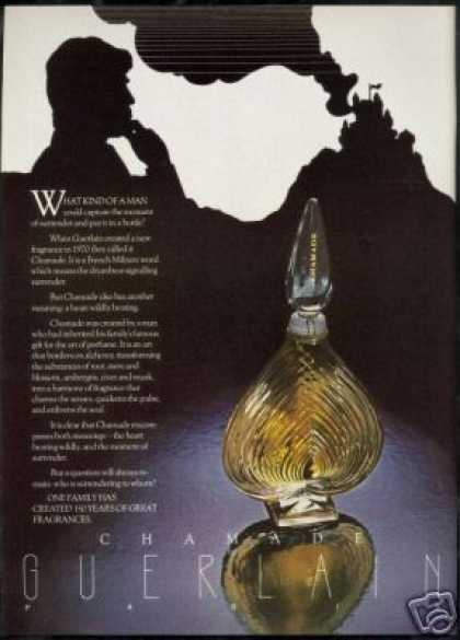Guerlain Chamade Perfume Means Surrender (1978)