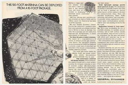 General Dynamics Geodesic Antenna NASA 2-Page (1969)