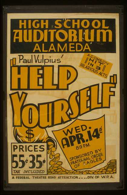 "Paul Vulpius' ""Help yourself"" – A comedy hit in 3 hilarious acts. (1937)"