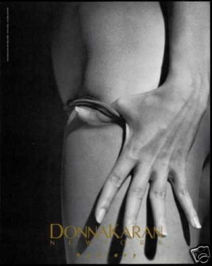 DKNY Womans Sexy Leg Photo Donna Karan Hosiery (1990)