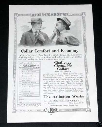 Old , Challenge Cleanable Collars (1918)
