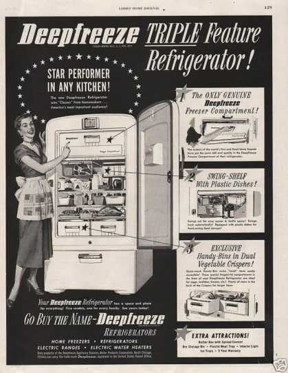 Deep Freeze Refrigerat (1950)