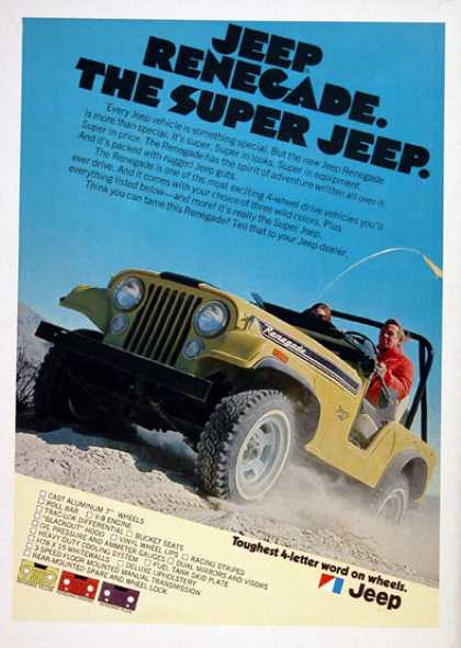 Jeep Renegade 4x4 (1972)