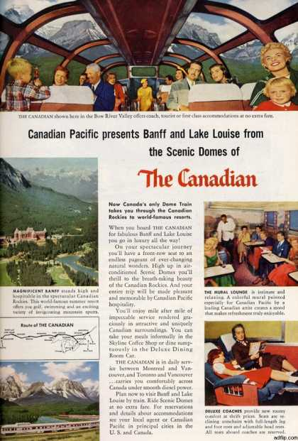 Canadian Pacific's The Canadian Train (1956)