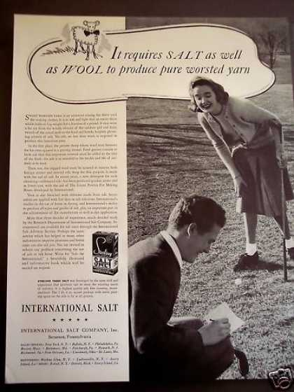Salt & Wool Makes Yarn Woman Plays Golf (1941)