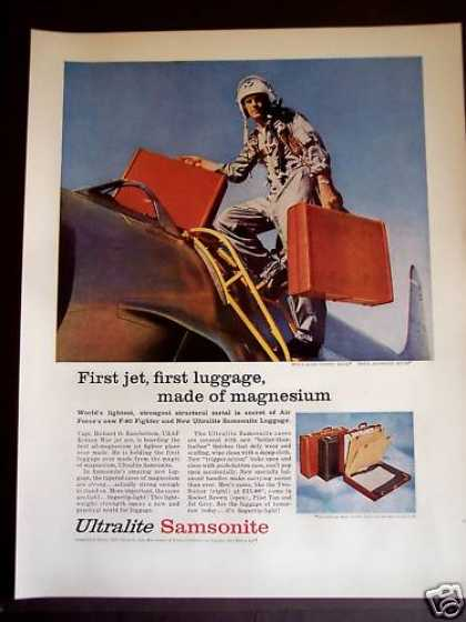 Samsonite Luggage Richard O Ransbottom (1956)