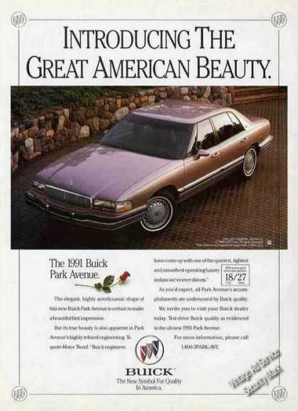 Buick Park Avenue Great American Beauty Car (1991)