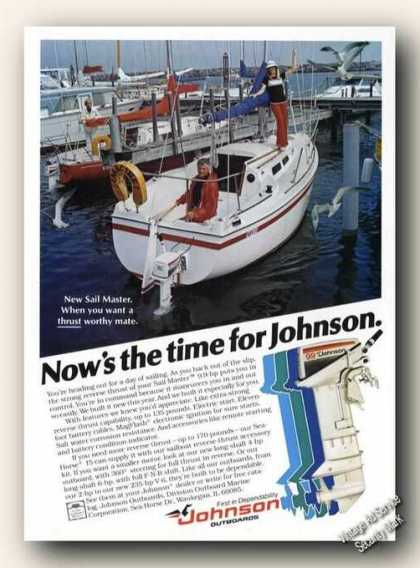 Johnson Sailmaster Outboard Motor Boats Promo (1978)