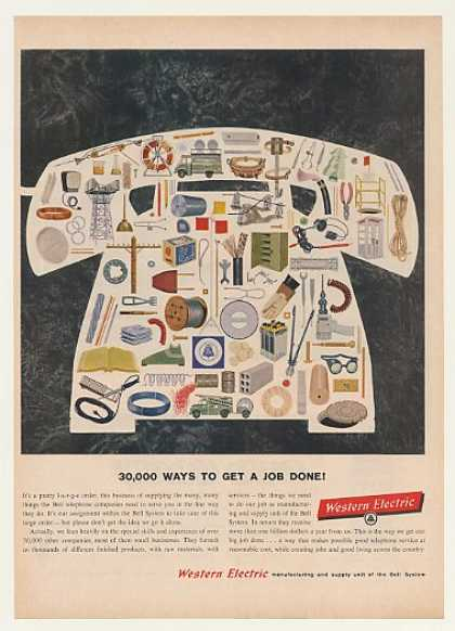 Western Electric Products for Bell Telephone (1959)