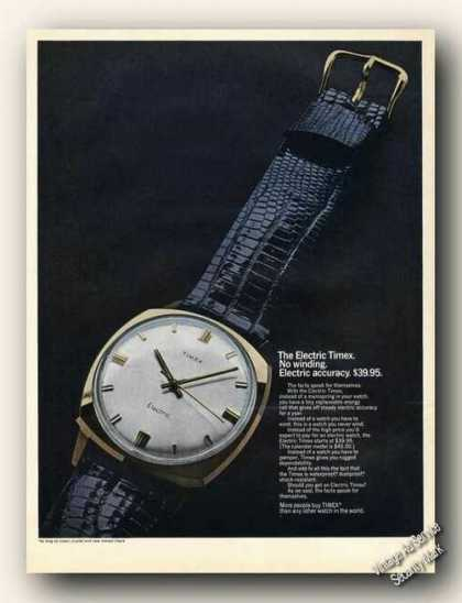 Electric Timex Large Color Photo (1968)