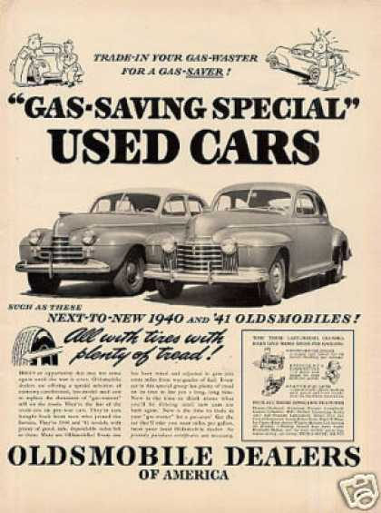 Oldsmobile Cars (1942)