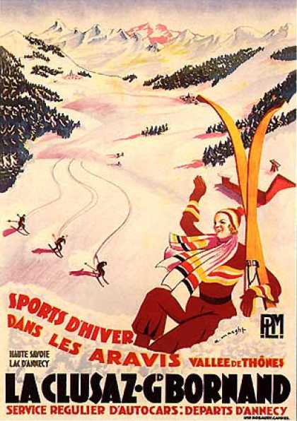 La Clusaz by A. Maeght (1925)