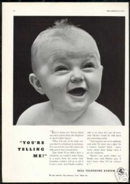 Talking Baby Bell Telephone System (1940)