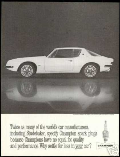 Studebaker Avanti Photo Champion Vintage (1962)