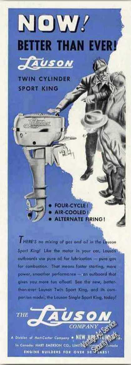 Lauson Outboard Motor New Holstein Wi (1949)