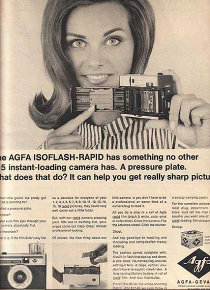 Agfa's Isoflash-Rapid Camera (1965)
