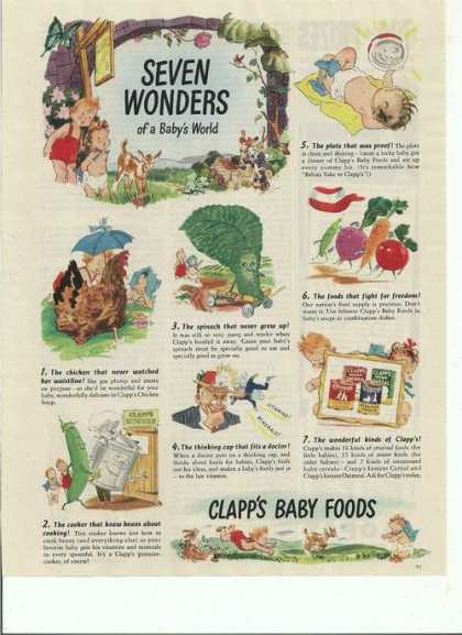 Clapps Baby Food Cartoon (1944)