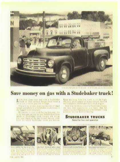 Studebaker Truck – Pick Up Truck – Sold (1951)