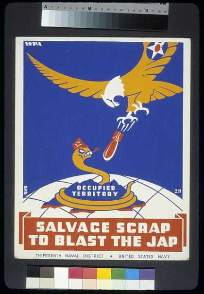 Salvage scrap to blast the jap / PvP. (1940)