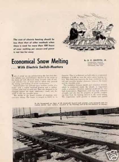"""Economical Snow Melting..electr (1952)"