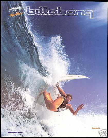 Surfer Surfboard Billabong Fashion Photo (1999)