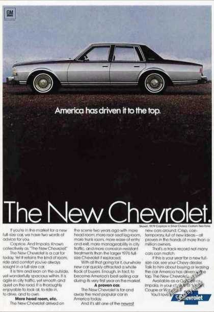 "Chevrolet Caprice ""Drive To the Top"" (1979)"