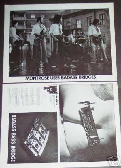 Monrtose Band & Badass Guitar Bridge 2p (1976)