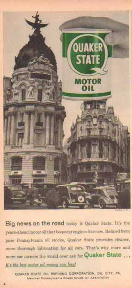 Quaker State – Madrid, Spain (1958)
