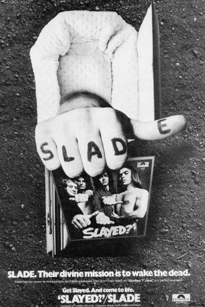 Polydor Record's Slade Slayed? (1973)