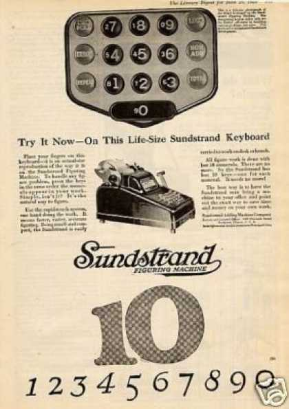 Sundstrand Figuring Machine (1920)