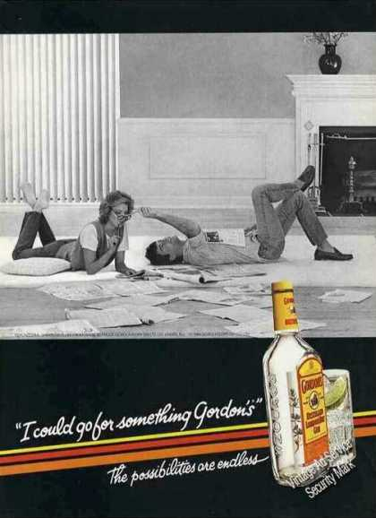 """I Could Go for Something Gordon's"" Gin (1985)"