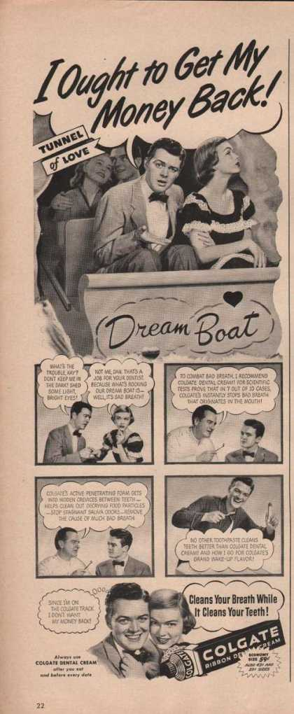 Colgate Ribbon Dental Cream (1949)