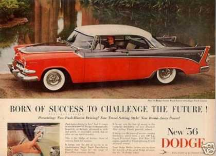 Dodge Custom Royal Lancer Car (1956)