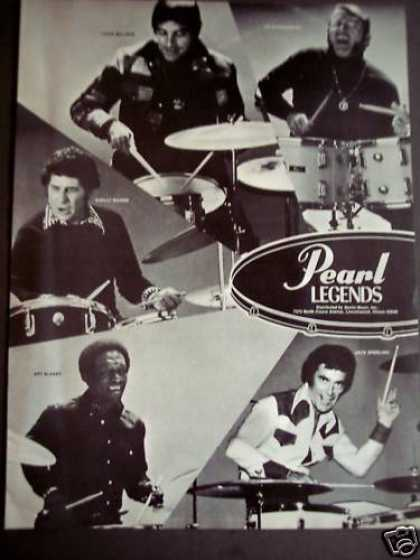 Pearl Legends Louie Bellson, Art Blakley Music (1975)