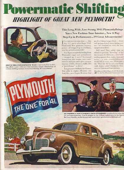 Chrysler's Plymouth (1940)